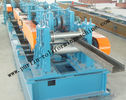 Best Automatic C / Z Purlin Roll Forming Machine Interchangeable For Steel Frame for sale
