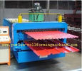 China Corrugated Roof Tile Roll Forming Machine Double Layer 0.3mm - 0.8mm for Colored Steel Tiles distributor