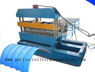 China 7.5KW Hydraulic Bending Machine / Pipe Rolling Machinery For 0.7mm - 1.5mm Cable Tray distributor