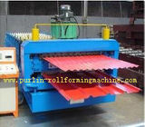 Best Automatic Color Steel Cold Roll Forming Machine Sheet Metal Rolling Former for South Africa Customer for sale